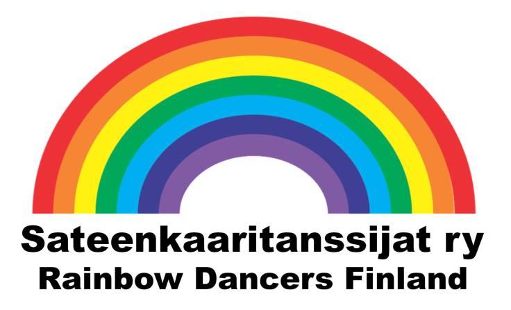 Sateenkaaritanssijat ry, Rainbow Dancers Finland -logo